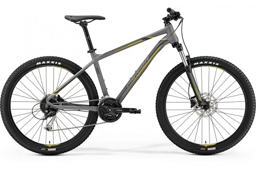 "Велосипед '19 Merida Big.Seven 100 Колесо:27.5"" Рама:L(19"") MattGrey/Yellow/DarkGrey"